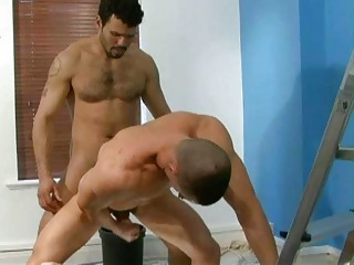 Cute bald stud gets his ass madly poundedx